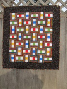 Confetti Quilt - Bright Primary Colors | zippityduda - Quilts on ArtFire