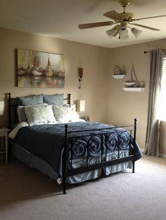 Simple Nautical Bedroom Ideas : Ocean Nautical Bedroom Ideas – Better Home and Garden
