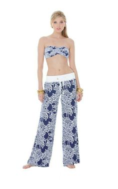 Lilly Pulitzer Resort '13- Beach Pant in I Herd You
