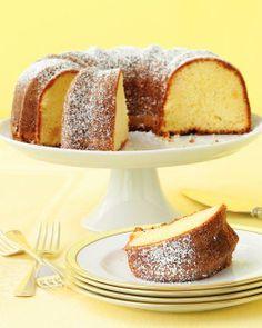 Easter Brunch Recipes // Lemon-Ginger Bundt Cake Recipe