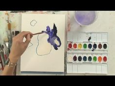 Making Whites Glow in Watercolor : Watercolor Painting - YouTube