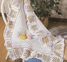 Ravelry: Rainbow Granny Squares pattern by Helen Boley