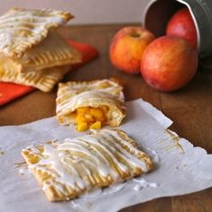 """Fresh Peach Pie """"Pop Tart"""""""