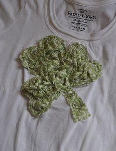 Ruffled Shamrock Shirt