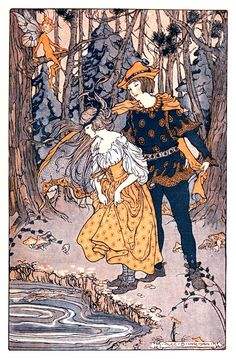 The green forest fairy book' by Loretta Ellen Brady, with illustrations by Alice B. Preston. Published 1920 by Little, Brown & Co