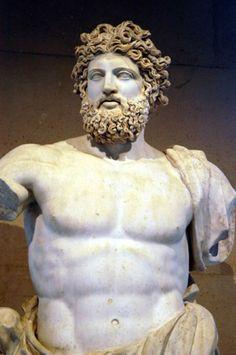 Jupiter of Versailles, Roman, 2nd C. AD ~ Louvre ~ Paris