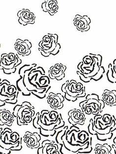 Rose Stencil - Alabama Chanin (alabamachanin.com)