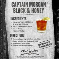 Captain Morgan Black & Honey