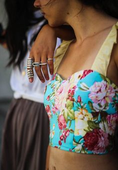 """""""The Lovers""""bustier by Karavan, clothing for the wanderers"""