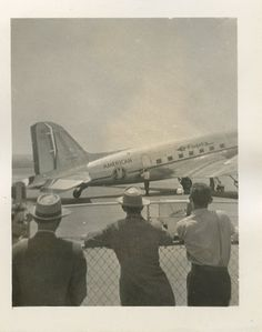 """Found photo """"Tommy's plane at Lambert Field"""""""