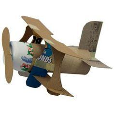 Love this little bi-plane craft!