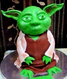 Cake Yoda by The House of Cakes Dubai, via Flickr