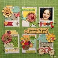life 101, scrapbook layouts, galleri, autumn, colors