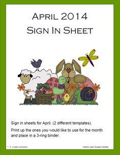 april, templat, parent sign, free download, jeans, click, learn curriculum, sheet