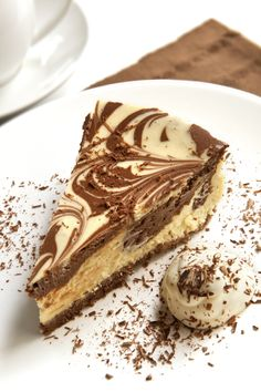 Chocolate marbled cheesecake | MummyPages.ie