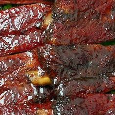 Crock-Pot BBQ Ribs- Gotta love anything crock-pot!!