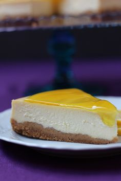 Lemon Cheesecake - A tantalizing recipe that combines the zing of lemon with the sweetness of cheesecake baked in a buttery cookie crust.