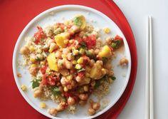 Chickpea Succotash with Lemongrass | Vegetarian Times
