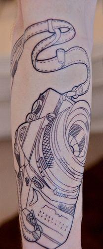 camera #tattoo