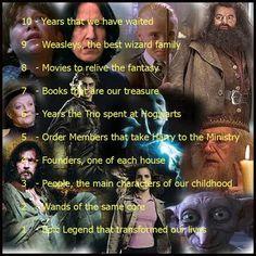 Harry Potter 1-10