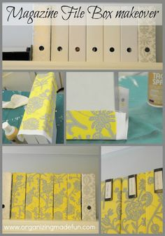 How I made those file boxes look good