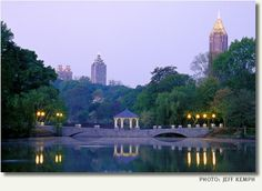 Piedmont Park bridge