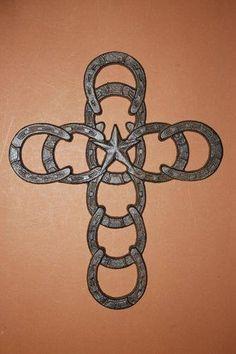 Horseshoe cross love, love this!
