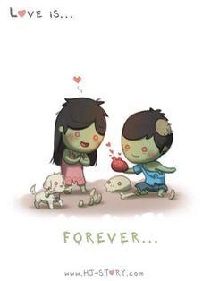 Ah. Zombie Love....