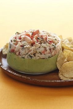 Fresh Crab and Avocado Dip