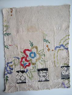 patchwork embroideri, salvag embroideri, textil, stitch therapi, stitches, embroidery