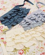 a cute frilly apron will make me want to be in the kitchen more!