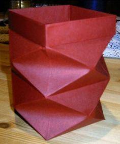 How to fold a lantern