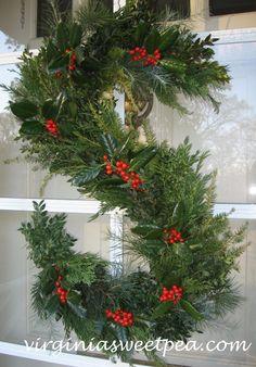Monogram S Wreath