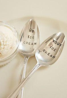 My Ice Cream, Your Ice Cream Spoons