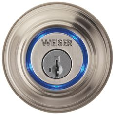 Imagine if your smart phone was the key to your front door... Meet the Weiser Kevo Bluetooth Deadbolt Lock.