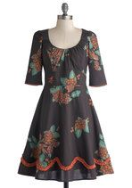 Contra Dance With Me Dress   Mod Retro Vintage Dresses   ModCloth.com