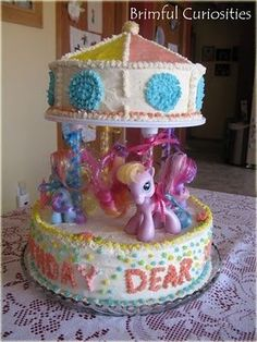 My Little Pony Birthday Cake and Cupcake Ideas
