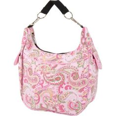 The Bumble Collection Chloe Convertible Bag, Pink Paisley « Only Women's Clothing - $79.99