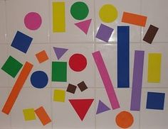 Cut out foam shapes and use in bathtub. They stick on the wall when wet.