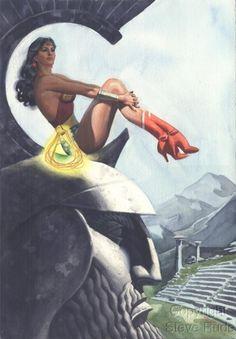 """""""Wonder Woman"""" by Steve Rude"""