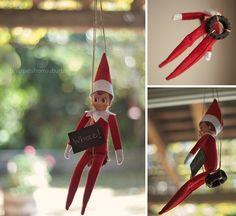 Elf Ideas --- LOTS just flip through the pictures :D