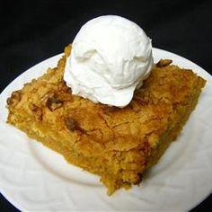 Rich Pumpkin Dessert Allrecipes.com