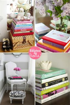 stylish book collections #home #decor #colors #decoration #ideas #inspiration #interior