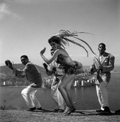 #travelcolorfully carnaval no morro mexicano, rio de janeiro circa 1950