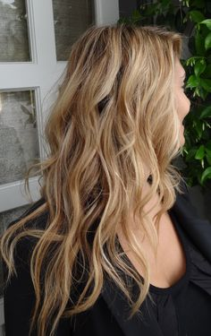 Sandy blonde. Color by Sarah Conner.