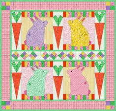 Some Bunny Loves You! - PDF Quilt Pattern