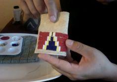 Tutorial: How to Bead a Tobacco Bag, Lakota Style!