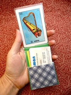 How to Make a Business Card Holder... From Playing Cards