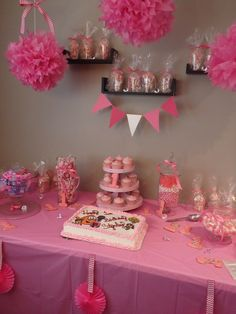 Pretty in Pink First Birthday Party - Party Girls Company