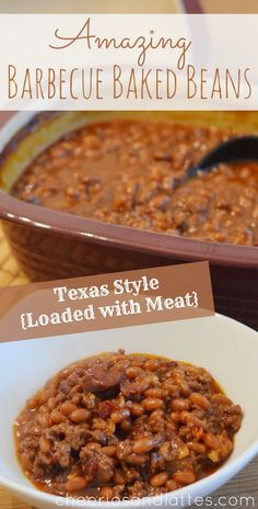 Amazing Barbecue Baked Beans {Texas Style}